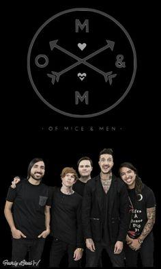 Of Mice & Men lock screen