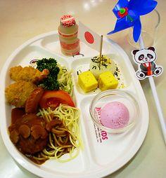 カンペキな「お子様ランチ」を求めて ~第2回 上野松坂屋の「お子様ランチ」~ - まだある。昭和食堂   まだある。昭和ナビ