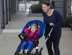 celebrities bugaboo strollers - Google Search Seagal Hagege and daughter Sadie are big fans of Bugaboo strollers. Photo: Chad Rachman