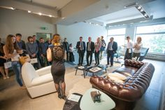Great success for the Poltrona Frau Showroom opening in the belarus city of Minsk on Timiryazeva Street 3 with the Группа СКВИРЕЛ , the most prestigious retail group in Belarus.