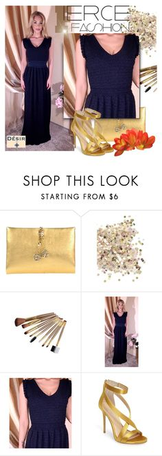 """DesirVale"" by selmir ❤ liked on Polyvore featuring Roberto Cavalli, Topshop and Imagine by Vince Camuto"