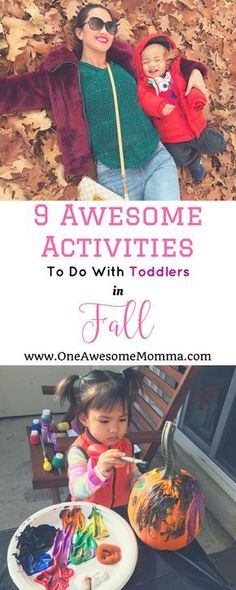 Are you looking for fun activities for toddlers and awesome activities for kids this fall? Your toddler will have an amazing time when you do these activities with them! | fall activities | fall activities for toddlers | fall activities for preschool | fa