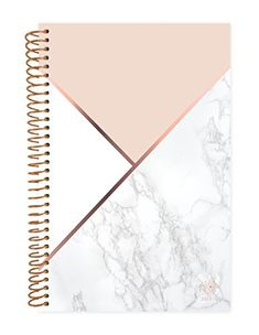 Bloom Daily Planners Academic Year Day Planner - Monthly and Weekly Calendar Book - Inspirational Dated Agenda Organizer (August 2018 - July x - Color Blocking Marble Rose Gold Room Decor, Rose Gold Rooms, Middle School Supplies, Diy School Supplies, Cute Notebooks For School, Marble Planner, Diy Notebook Cover, Diy Back To School, School Accessories