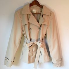 Maurice's Short Trench Coat Never worn. Lightweight trench perfect for a chic spring. Maurices Jackets & Coats Trench Coats