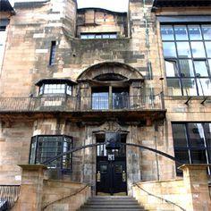 83 The Glasgow School of Art, perhaps Charles Rennie Mackintosh's masterpiece.