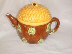 Bath & Body Works At Home Acorn Teapot  TPS-1005
