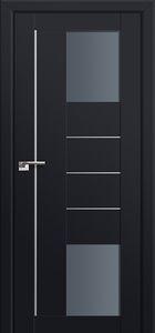 Milano-43U Black mat Interior Door