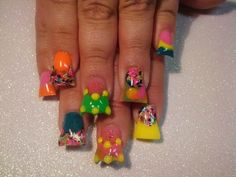 not sure about the new Duck Feet Nail Trend but we shall leave you to .We& not sure about the new Duck Feet Nail Trend but we shall leave you to . Bad Nails, Crazy Nails, Nail Designs Pictures, Cute Nail Designs, Toe Designs, Duck Feet Nails, Flare Nails, New Nail Trends, Nail Mania