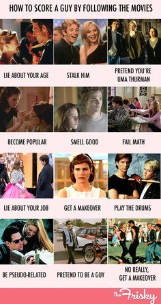 How To Score A Guy By Following The Movies