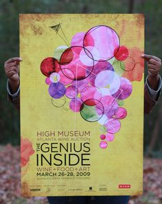 "The High Museum Atlanta Wine Auction celebrated its 17th year, ""The Genius Inside: Wine + Food + Art."" The Wine Auction is the largest fund-raising event for the High Museum."