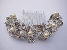 wedding accessories-bridal headpiece-wedding hair by sustyle88