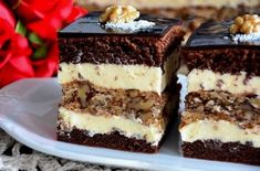 Romanian Desserts, Romanian Food, Cooking Time, Cooking Recipes, Cake Recipes, Dessert Recipes, Easy Cake Decorating, Cake Ingredients, Food Cakes