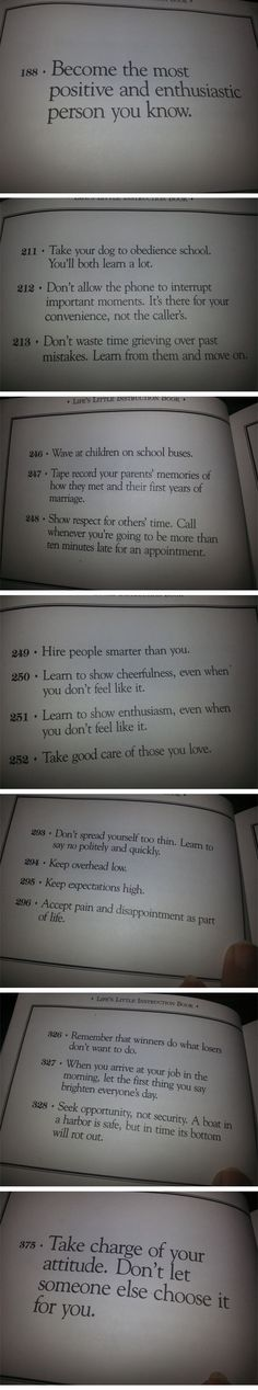 Book of life's instructions. Click link for more pages #sayings
