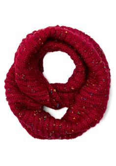 Pigments of My Imagination Circle Scarf in Red, #ModCloth