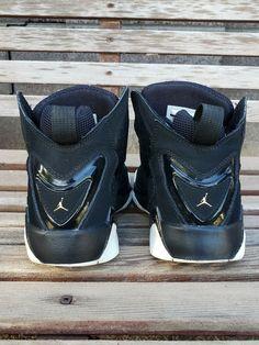san francisco 56f57 991e9 Nike Air Jordan True Flight BG Black Youth Size 5Y 343795 026  fashion   clothing