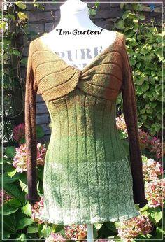 Ein Unikat Pullover aus *Im Garten*\\n\\n10.10.2014 12:31