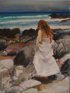 "Saatchi Online Artist Kristian Mumford; Painting, ""Contemplating Petrel Cove (2011)"" #art"