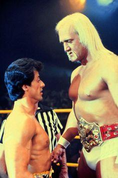 theactioneer: Sylvester Stallone & Hulk Hogan, Rocky III (1982)