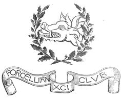 Heraldic Shield of the Porcellian Club from the Centennial