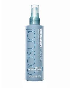 Toni and Guy Casual Sea Salt Spray - just got this smells great and its lightweight not crunchy