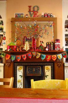 Cheer - Christmas-style, via Vintage Home.