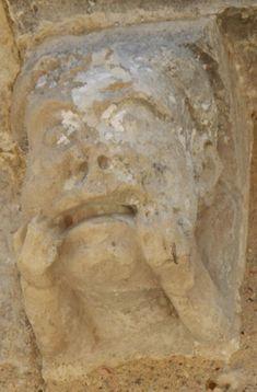 Modillons historiés Romanesque Art, Decoration, Big Top, Dekoration, Romanesque, Decorating, Deco, Deko, Decor