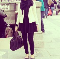 TunicDress + Jacket + SlimcutPants