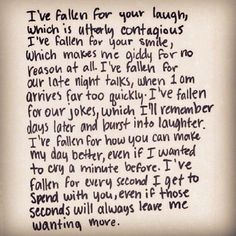 I've Fallen For You Pictures, Photos, and Images for Facebook, Tumblr, Pinterest, and Twitter