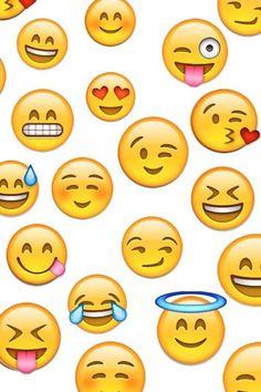da66fb37851 Emoji Fondo Celular, Emoticones Emoji, Emoticonos, Pantalla Para Whatsapp,  Fondos De Pantalla