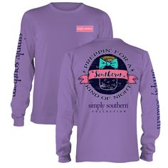 Simply Southern long sleeve tee.... Love....love everything about it!!