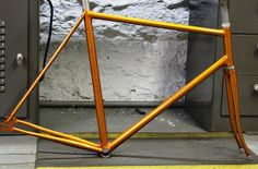 Brian's track bike by Bishop Bikes || via Flickr