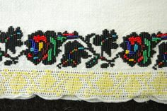 Bed skirt, Ukraine, from Iryna Cross Stitch, Symbols, Costume, Embroidery, Fabric, Ukraine, Skirt, Outfit, Bed