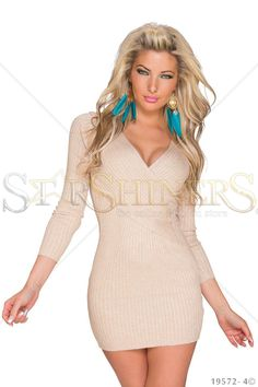 High Temperature Cream Dress