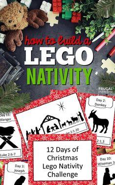 Lego Christmas Ornaments, Lego Christmas Village, Christmas Nativity Set, Magical Christmas, 12 Days Of Christmas, A Christmas Story, White Christmas, Lego Bible, Lego Advent Calendar