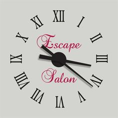 11 Best Clocks Wall Decal Images Wall Wall Decals Wall