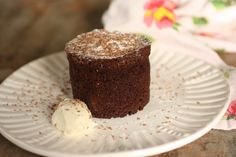 Chocolate and Prune Pudding cake