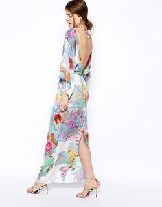 Enlarge ASOS Digital Print Kimono Dress