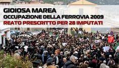Gioiosa Marea - Occupazione ferrovia 2009, reato prescritto - http://www.canalesicilia.it/gioiosa-marea-occupazione-ferrovia-2009-reato-prescritto/