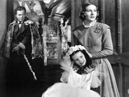 Jane Eyre, 1944, Orson Welles, Joan Fontaine, Margaret O'Brien.  Good love story with mystery.