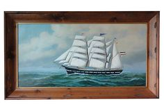 Three Masted    Clipper on OneKingsLane.com