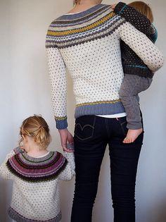 Ravelry: Damejakka Loppa / Flea – A Lady's Cardigan pattern by Pinneguri Kids Knitting Patterns, Knitting For Kids, Fair Isle Knitting, Cardigan Pattern, Winter Warmers, Knits, Knitwear, Knit Crochet, Cardigans