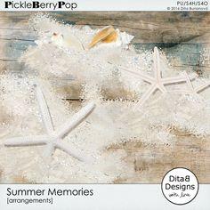 Summer Memories - overlays