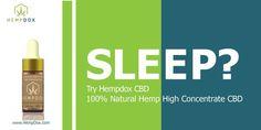 Try the New #HempDox #CBD 100% Natural #Hemp High Concentrate CBD  http://www.HempDox.com  #cbdoil #cbddrops #sleep