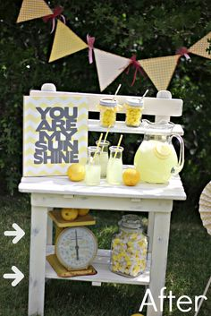 Lemonade Stand Transformation So Cute And My Kids Love Doing This