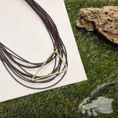 Εντυπωσιακό κολιέ από ορείχαλκο σφυρήλατο Namaste, Tassel Necklace, Jewelry, Fashion, Moda, Jewlery, Jewerly, Fashion Styles, Schmuck