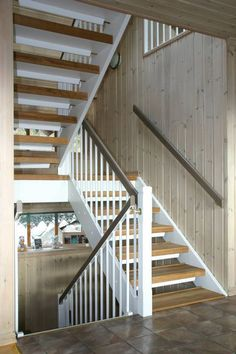 Fornyelse av trappen - Bolig Stairs, House, Design, Home Decor, Interiors, Beige, Staircases, Stairway, Decoration Home