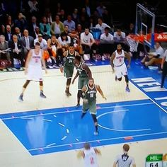 OHHHHH! Power put back dunk by Kristaps Porzingis. You'll want to box him out next time. http://mightyshoes.net/kristaps-porzingis-bio-shoes-deal/