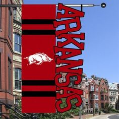 Arkansas Razorbacks Banner Flag