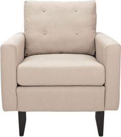 Safavieh Sophie Biege Club Chair