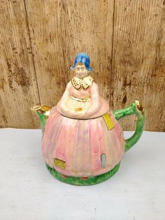 DOLLHOUSE 1:12 Miniature Resin Hollow Pottery-Like Pitcher w//Handle and Spout